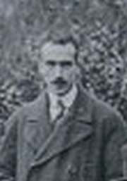 Foto do autor. Fernand Maurette en 1920 à École normale supérieure de Paris