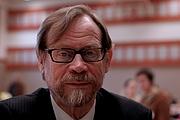 Författarporträtt. Erkki Pulliainen, a member of Finnish Parliament, at the 2008 party convention of Green League / Hannu Oskala