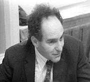 Kirjailijan kuva. Gellner at the fourth SSRC Seminar