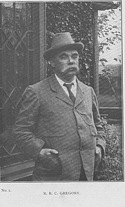 Författarporträtt. F.W.Nunn 1909