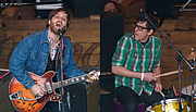 """Kirjailijan kuva. The Black Keys performing at the SXSW Music Festival in 2010 By Y2kcrazyjoker4 - Photomontage, created by Y2kcrazyjoker4 fromFile:Black Keys at MOG.jpg by Kara MurphyFile:The Black Keys at MOG, SXSW 2010.jpg by Kara Murphy, CC BY 2.0, <a href=""""https://commons.wikimedia.org/w/index.php?curid=18773961"""" rel=""""nofollow"""" target=""""_top"""">https://commons.wikimedia.org/w/index.php?curid=18773961</a>"""