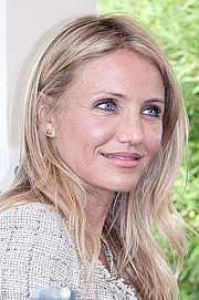 Kirjailijan kuva. Cameron Diaz at Paris press conference for Knight & Day held in Bordeaux, July 2010. By Caroline Renouard of Pixiel Association