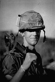 Kirjailijan kuva. Photo by Dale Dye, property of U.S. Marine Corps (Wikipedia)