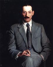 Kirjailijan kuva. By Lilla Cabot Perry (1848–1933)