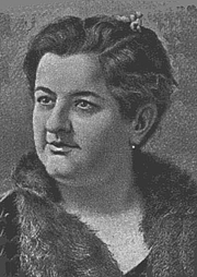 "Författarporträtt. by Torquemada, at <a href=""http://upload.wikimedia.org/wikisource/es/9/99/EmiliaPardoBazán.jpg"">Wikisource</a>"