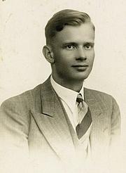 Foto de l'autor. Ulrich Alexander Boschwitz in the early 1930s