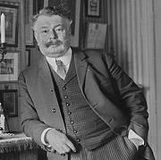Author photo. G. Lenotre en 1909