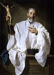 Foto do autor. Saint John of Avila / A portrait by Pierre Subleyras (1746).