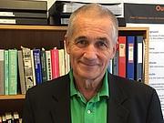 Foto do autor. Professor Peter C Gøtzsche