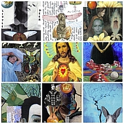 Photo de l'auteur(-trice). This is a group of my original postcard art.