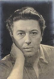 Fotografia de autor. André Breton par Man Ray en 1930