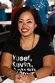 "Foto de l'autor. Author Tiffany D. Jackson at the 2019 Texas Book Festival in Austin, Texas, United States. By Larry D. Moore, CC BY-SA 4.0, <a href=""https://commons.wikimedia.org/w/index.php?curid=84427261"" rel=""nofollow"" target=""_top"">https://commons.wikimedia.org/w/index.php?curid=84427261</a>"