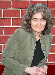 Författarporträtt. Leigh Hope Wood
