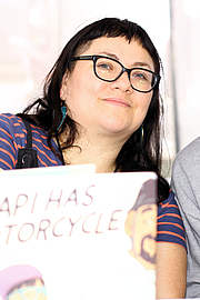 """Författarporträtt. Author Isabel Quintero at the 2019 Texas Book Festival in Austin, Texas, United States. By Larry D. Moore, CC BY-SA 4.0, <a href=""""https://commons.wikimedia.org/w/index.php?curid=83503296"""" rel=""""nofollow"""" target=""""_top"""">https://commons.wikimedia.org/w/index.php?curid=83503296</a>"""