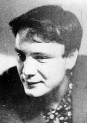 Foto do autor. Vladimir Buskovsky in his 20s [credit: Wikimedia Commons user Voronov]