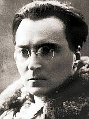 Forfatter foto. Victor Serge, early 1900s.