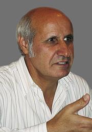 Kirjailijan kuva. Salim Alafenisch