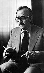 Kirjailijan kuva. Ernest Tidyman 1975
