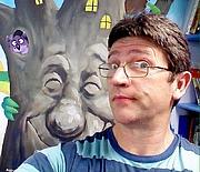Författarporträtt. Steven Smallman/from his homepage