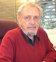 Kirjailijan kuva. Eliezer Ben-Rafael