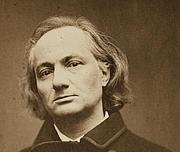 Foto auteur. Charles Baudelaire photographié à Bruxelles par Étienne Carjat, 1865