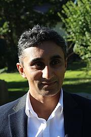 Kirjailijan kuva. Vaseem Khan