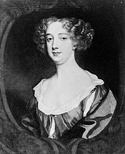 Författarporträtt. Portrait by Sir Peter Lely (1618-1680): Library of Congress Prints and Photographs Division (REPRODUCTION NUMBER:  LC-USZ62-127791) (cropped)