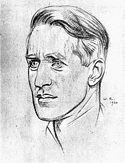 Fotografia dell'autore. Image from <b><i>Twenty-four portraits</i></b> (1920) by William Rothenstein