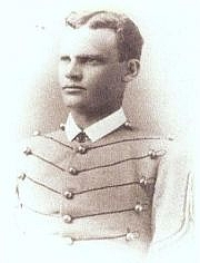 "Foto do autor. Cadet John Y.F. ""Beau"" Blake, West Point, Class of 1880"