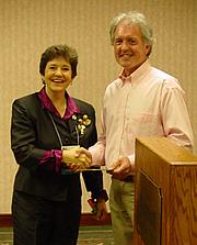Författarporträtt. Stephen Cartwright (right)