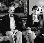 Kirjailijan kuva. Graham Reynolds with Daphne Reynolds (née Dent)in 1990