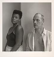 "Foto del autor. Photo of John Preston (with Veneita Porter) by Robert Giard, from the <a href=""http://digitalgallery.nypl.org/nypldigital/id?1661021"" rel=""nofollow"" target=""_top"">New York Public Library Digital Gallery</a>"