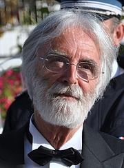 Författarporträtt. Michael Haneke au festival de Cannes en 2009. Photo by Georges Biard.