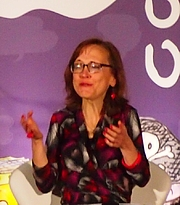 "Author photo. reading at National Book Festival By Slowking4 - Own work, GFDL 1.2, <a href=""https://commons.wikimedia.org/w/index.php?curid=62180191"" rel=""nofollow"" target=""_top"">https://commons.wikimedia.org/w/index.php?curid=62180191</a>"