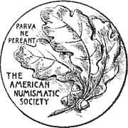 """Forfatter foto. By Unknown - Proceedings of the American Numismatic Society, Public Domain, <a href=""""https://commons.wikimedia.org/w/index.php?curid=38237292"""" rel=""""nofollow"""" target=""""_top"""">https://commons.wikimedia.org/w/index.php?curid=38237292</a>"""