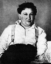 Kirjailijan kuva. Jaroslav Hašek in his twenties