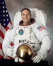 Författarporträtt. Michael J. Massimino, STS-109 mission specialist. (NASA picture)