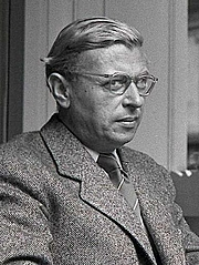Author photo. Jean-Paul Sartre in 1940.