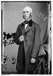 Författarporträtt. James Strong (1822-1894) Photograph dated circa 1855-1865. (Brady-Handy Photograph Collection, Library of Congress)