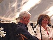 Author photo. Robert Dessaix and Ramona Koval/Flickr: anetz