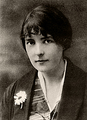 Author photo. Photo by Stanley Polkinghorne Andrew (1913)