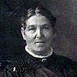 Författarporträtt. A picture of Maude Grieve taken in the early 1900s.