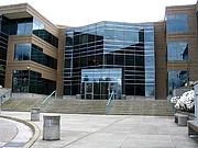 "Forfatter foto. <a href=""http://commons.wikimedia.org/wiki/User:Dcoetzee"">Derrick Coetzee</a><br>Building 17 on Microsoft's campus in Redmond, Washington, USA"