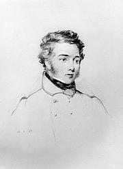 Författarporträtt. George Back in 1833, by William Brockedon (1787–1854). Wikimedia Commons.