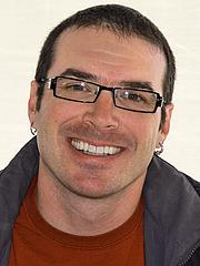 Kirjailijan kuva. Paolo Bacigalupi at the 2012 Texas Book Festival, Austin, Texas, United States.