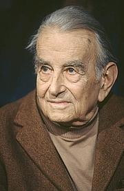 Foto de l'autor. Jean Bruler (Vercors) le 18 mars 1991