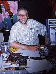 "Author photo. <a href=""http://en.wikipedia.org/wiki/Chuck_Dixon"" rel=""nofollow"" target=""_top"">http://en.wikipedia.org/wiki/Chuck_Dixon</a>"