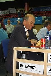 Författarporträtt. Alexander Beliavsky Ukrainian - Slovene Chess Grandmaster