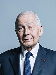 Forfatter foto. UK Parliament official portrait of Frank Field, 2017.