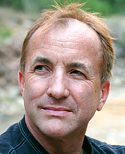 Author photo. Michael Shermer, photo credit to Wikipedia user Loxton